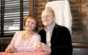 """Maria Elena Holly and Peter Asher at """"True Love Ways"""" Songmasters & PJ Clarke's Event"""