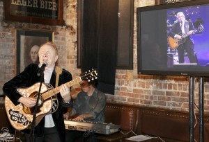 """Peter Asher performing """"True Love Ways"""" at Songmasters & PJ Clarke's Event"""