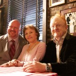 "Brian Carter, Maria Elena Holly, Peter Asher at ""True Love Ways"" Songmasters Event at PJ Clarke's"