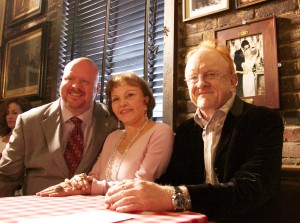 """Brian Carter, Maria Elena Holly, Peter Asher at """"True Love Ways"""" Songmasters Event at PJ Clarke's"""