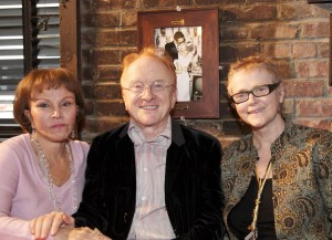 """Maria Elena Holly, Peter Asher and Regan McCarthy at Songmasters & PJ Clarke's """"True Love Ways"""" Event"""