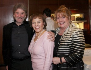 """Maria Elena Holly with friends at """"True Love Ways"""" Songmasters & PJ Clarke's Event"""